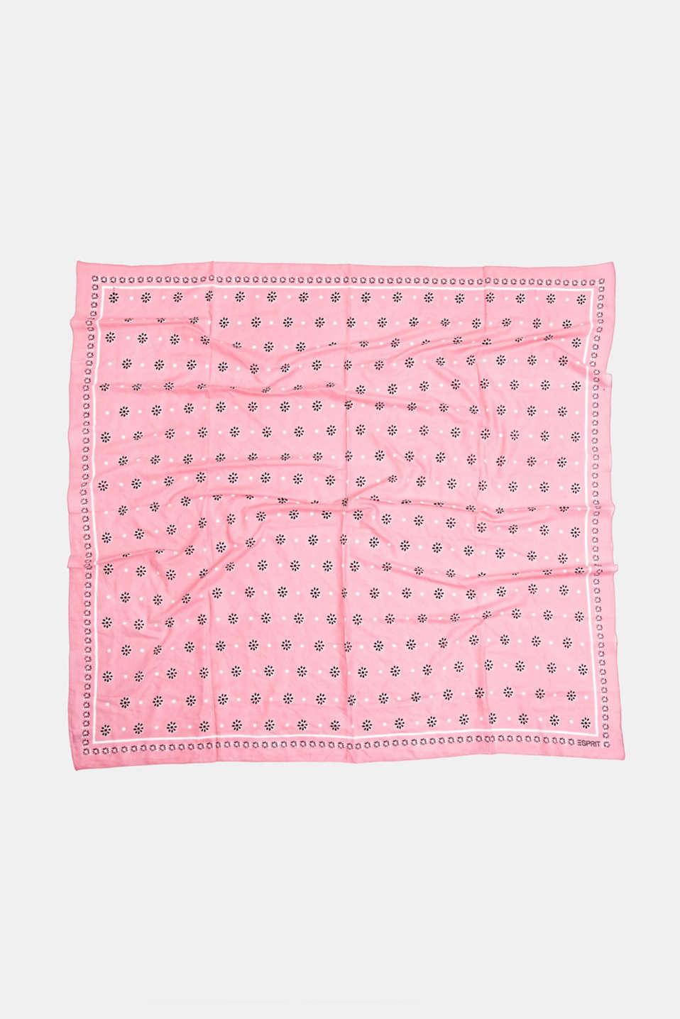 Bandana made of 100% organic cotton, PINK, detail image number 3