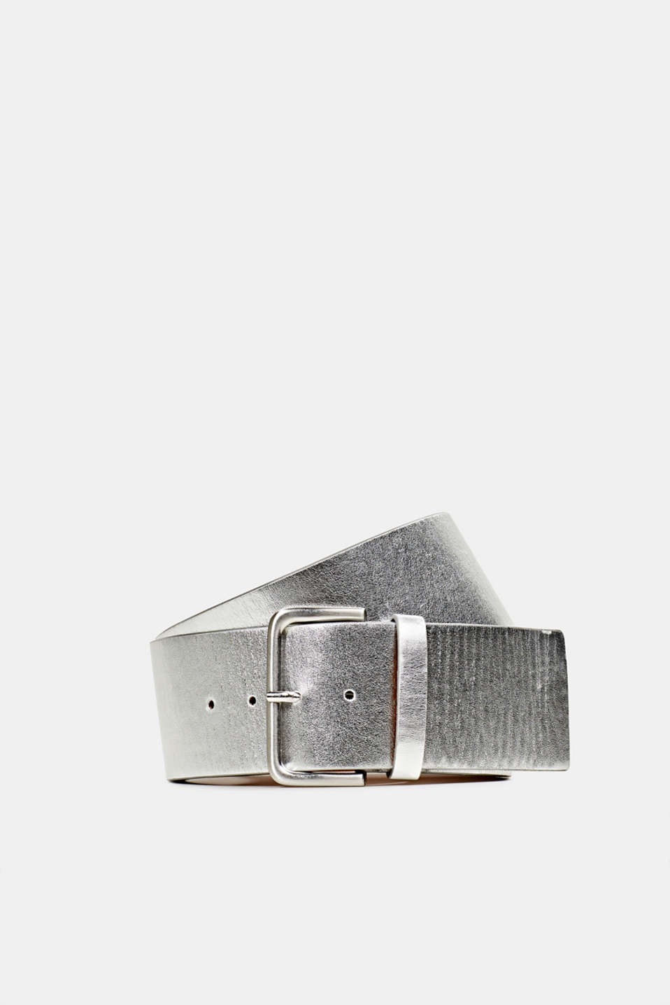 Esprit - Wide faux leather belt