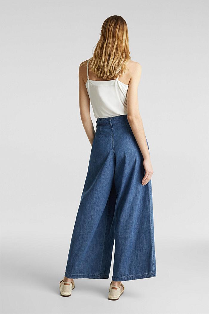 Jeans mit Knopfleiste, BLUE MEDIUM WASHED, detail image number 3