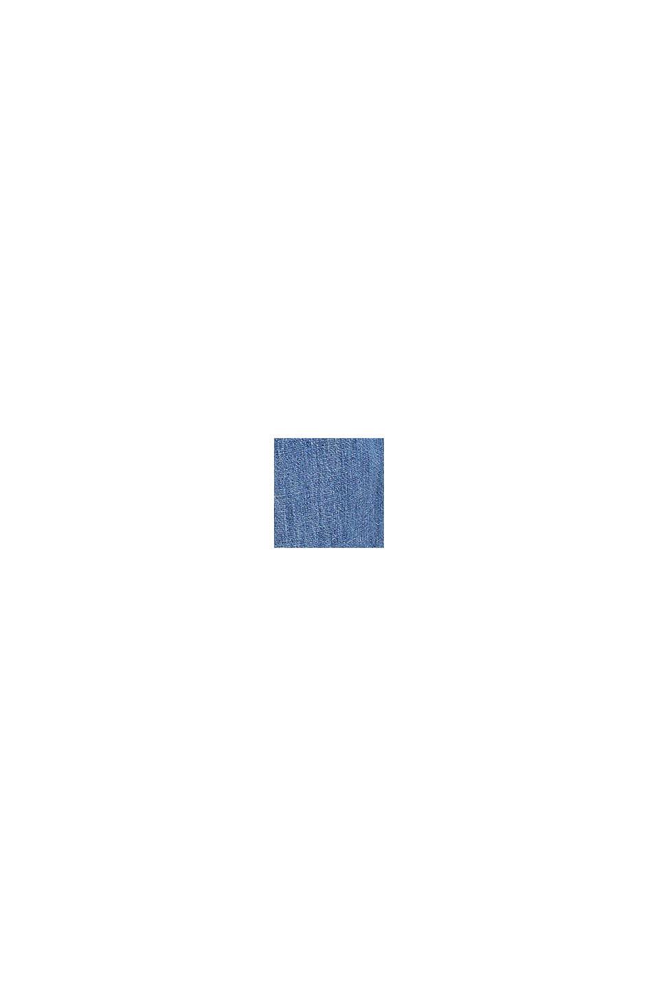 Jeans mit Knopfleiste, BLUE MEDIUM WASHED, swatch