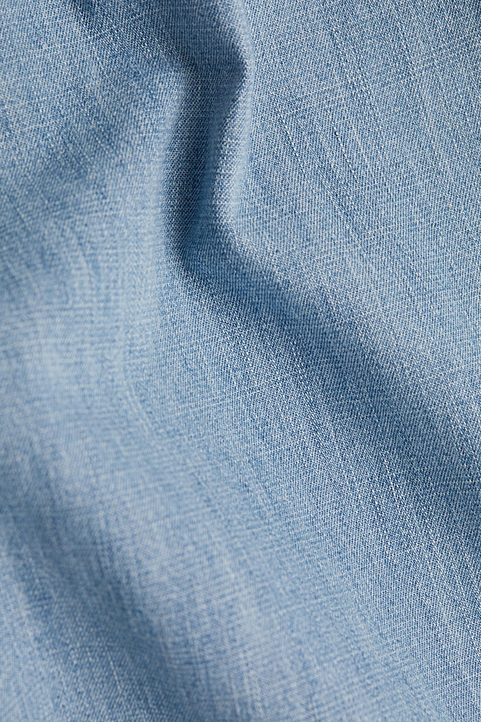 Button-fly jeans, BLUE LIGHT WASHED, detail image number 4