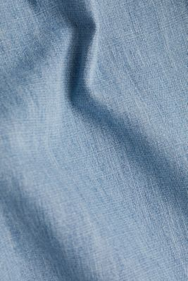 Button-fly jeans, BLUE LIGHT WASHED, detail