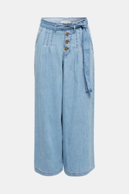 Button-fly jeans, BLUE LIGHT WASH, detail