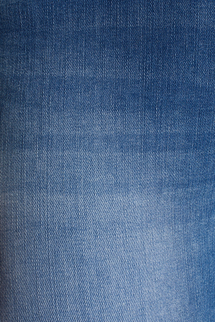 Ankle-length jeans with a tie-around belt, BLUE MEDIUM WASHED, detail image number 4