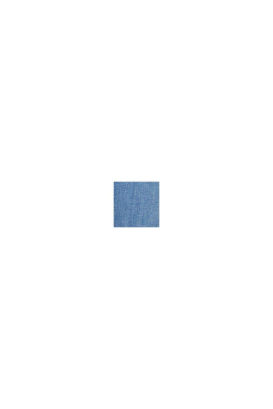 Ankellånga jeans med knytband, BLUE MEDIUM WASHED, swatch