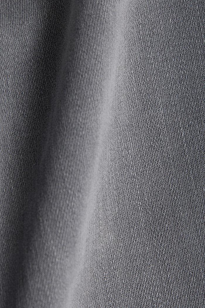 Jeans modellanti lunghi fino alla caviglia, GREY DARK WASHED, detail image number 4