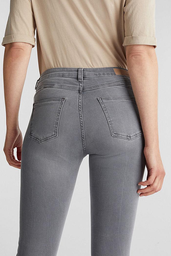 Jeans modellanti lunghi fino alla caviglia, GREY DARK WASHED, detail image number 5