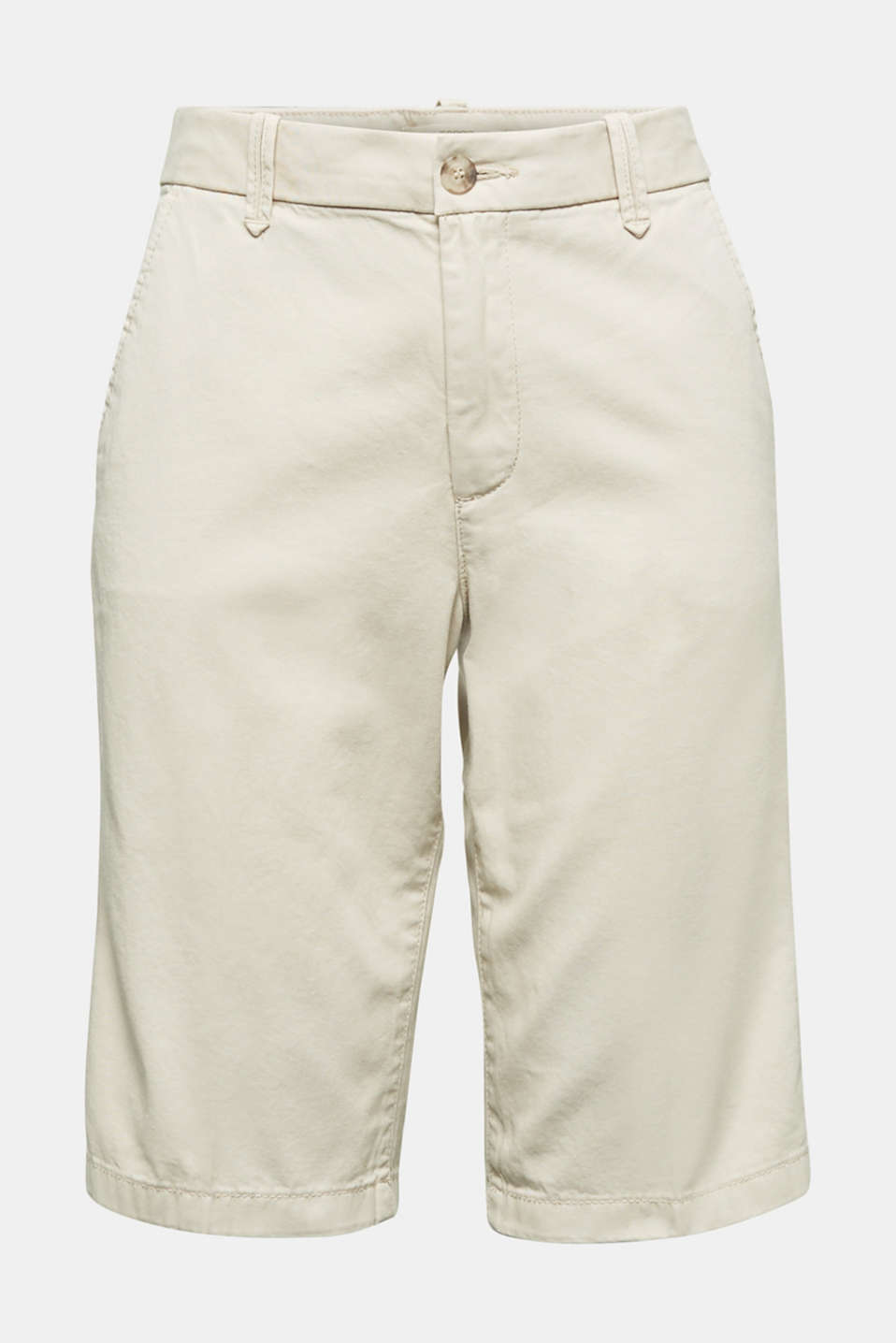 Bermudas in 100% cotton, SAND, detail image number 6