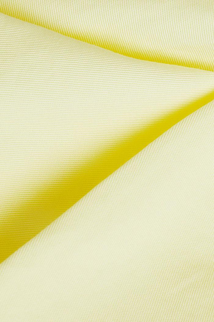 Bermuda aus 100% Baumwolle, LIME YELLOW, detail image number 4