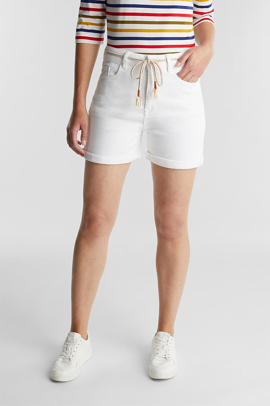 Denim-Shorts mit Organic Cotton