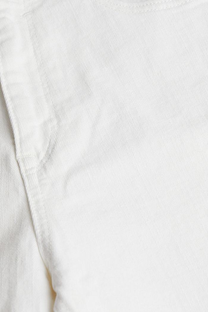 Denim-Shorts mit Organic Cotton, WHITE, detail image number 4