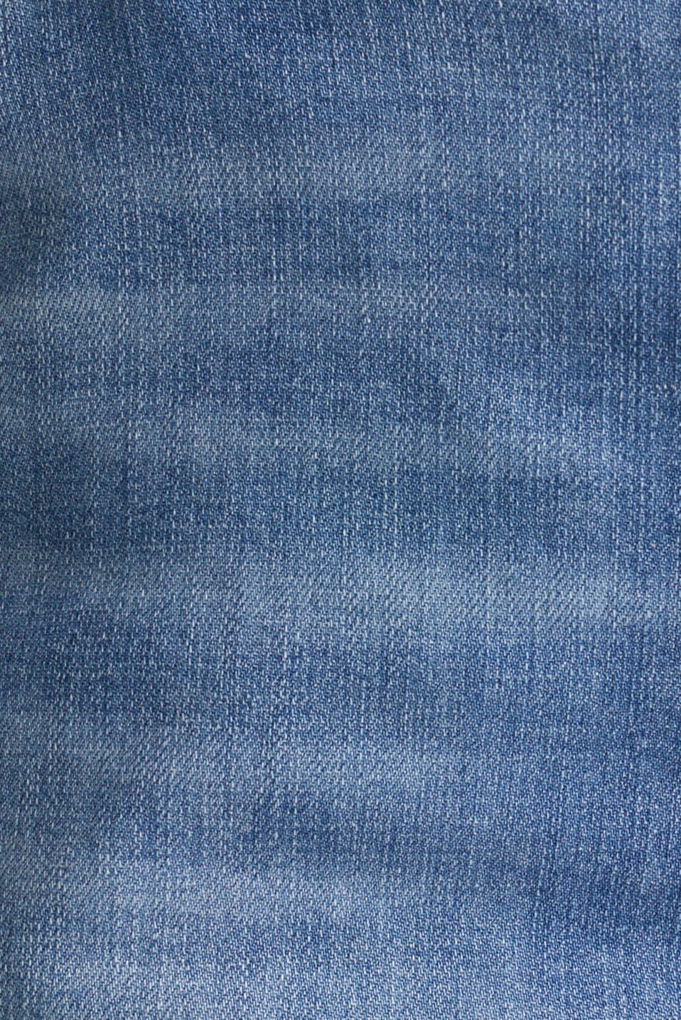 Stretch denim shorts, BLUE LIGHT WASH, detail image number 4