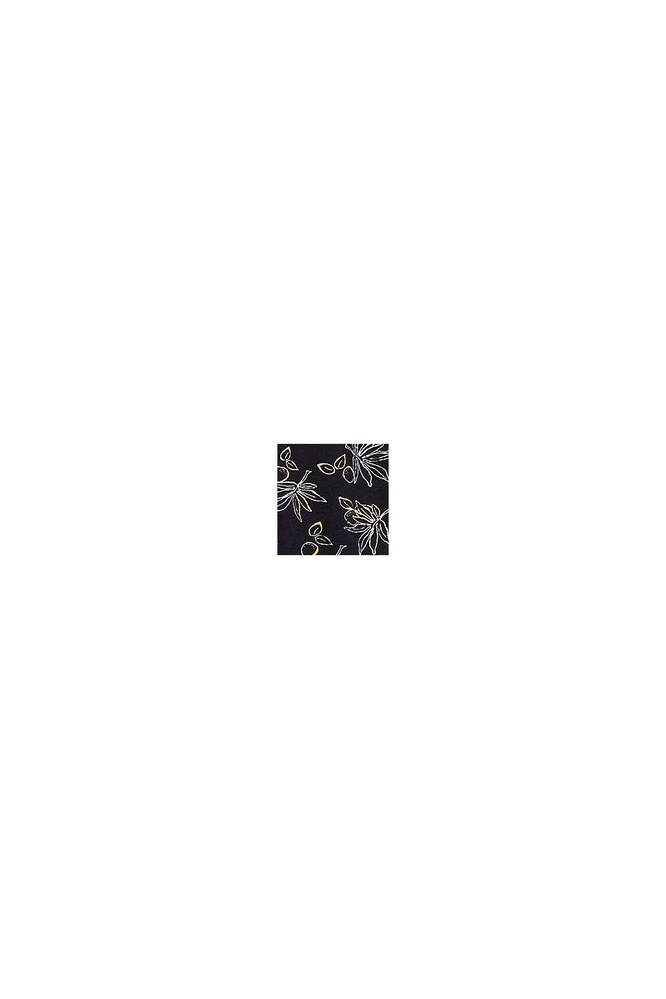 Ausgestellter Jersey-Rock, BLACK, swatch