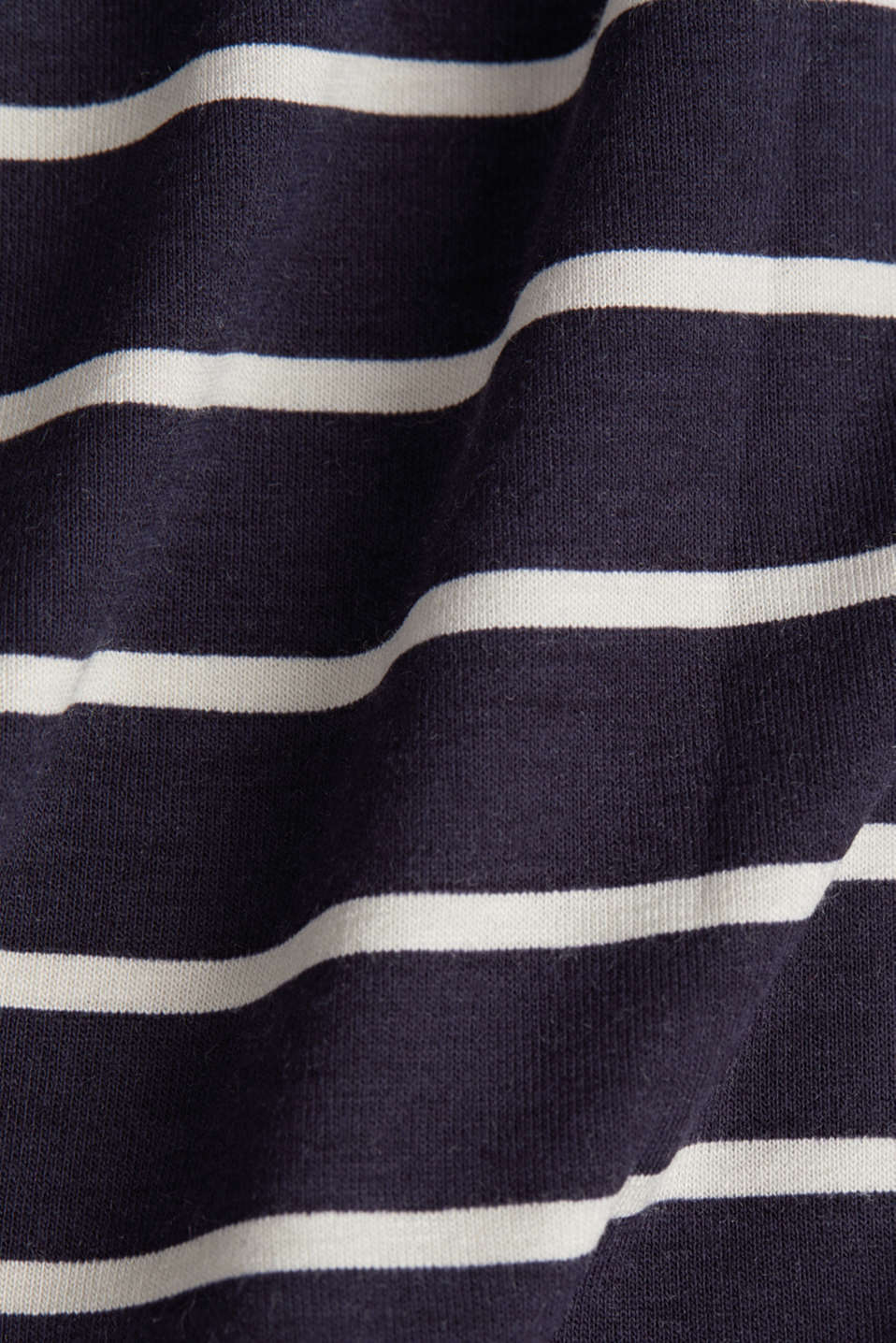 Flared jersey skirt, NAVY, detail image number 4