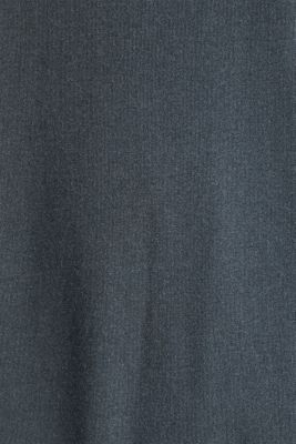 Midi dress made of jersey and cloth, GREY, detail