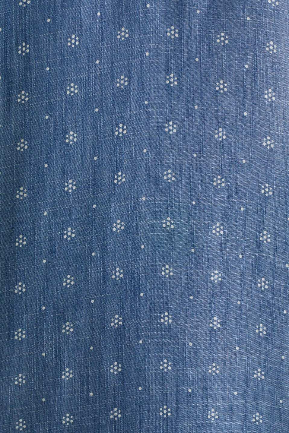 Made of TENCEL™: maxi dress in a denim look, BLUE MEDIUM WASH, detail image number 4