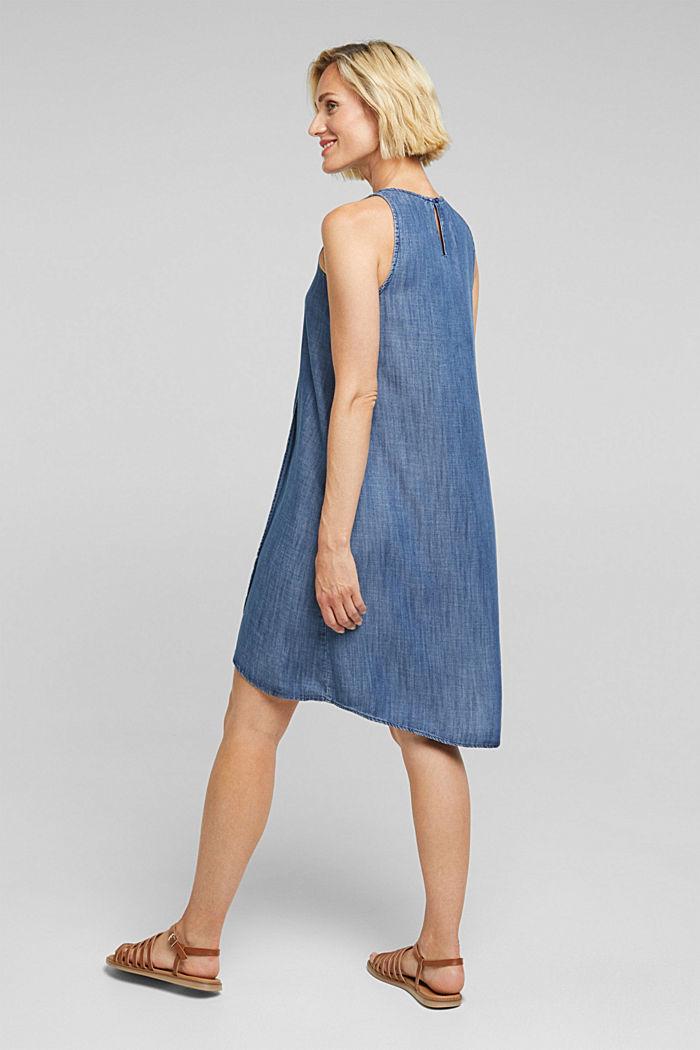 Layer-Kleid aus TENCEL™, BLUE DARK WASHED, detail image number 2