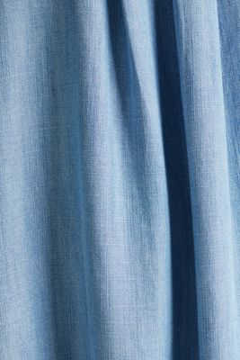 Layered dress made of TENCEL™, BLUE LIGHT WASH, detail