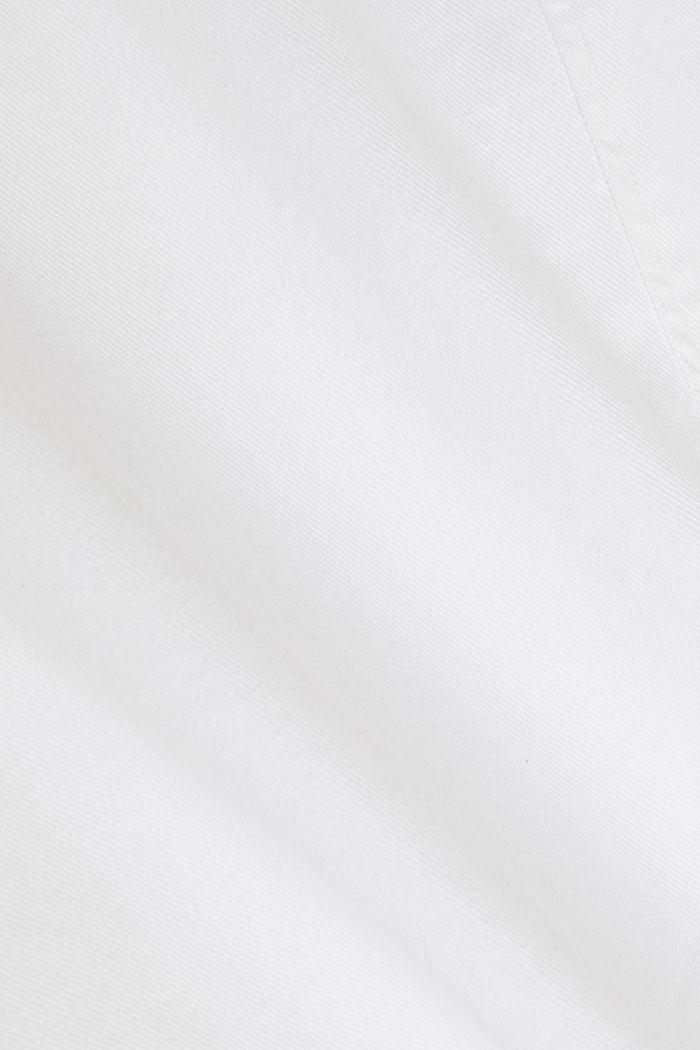Etuikleid aus Baumwoll-Denim, WHITE, detail image number 3