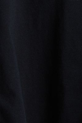 A-line dress made of 100% cotton, BLACK, detail
