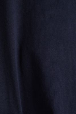 A-line dress made of 100% cotton, NAVY, detail