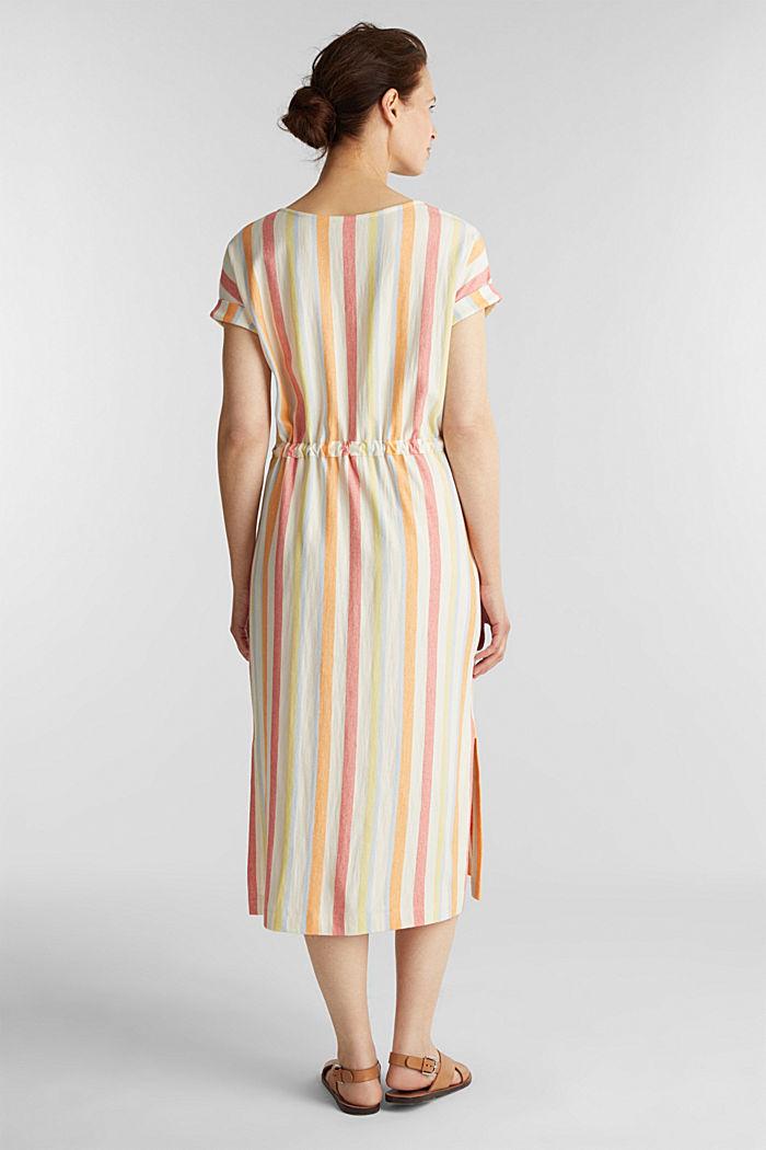 Blended linen kaftan dress, WHITE, detail image number 2