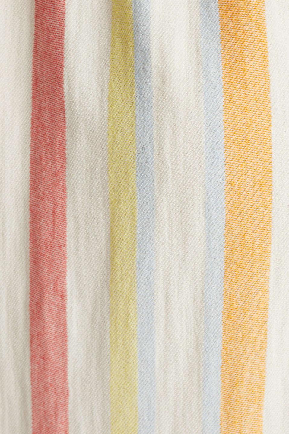 Blended linen kaftan dress, WHITE, detail image number 4