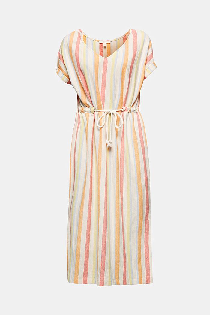 Blended linen kaftan dress, WHITE, detail image number 5