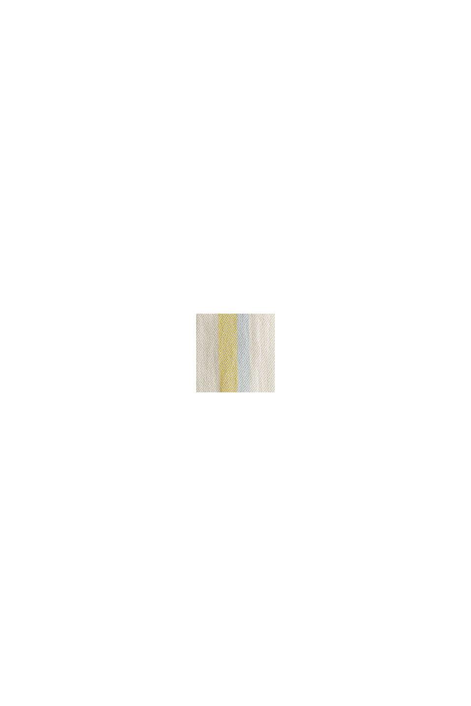 Blended linen kaftan dress, WHITE, swatch