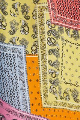 Maxi dress with a bandana print, CORAL 4, detail