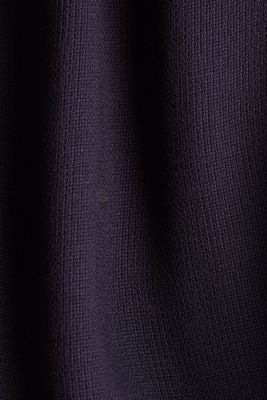 Dress with a high-low hem, NAVY, detail