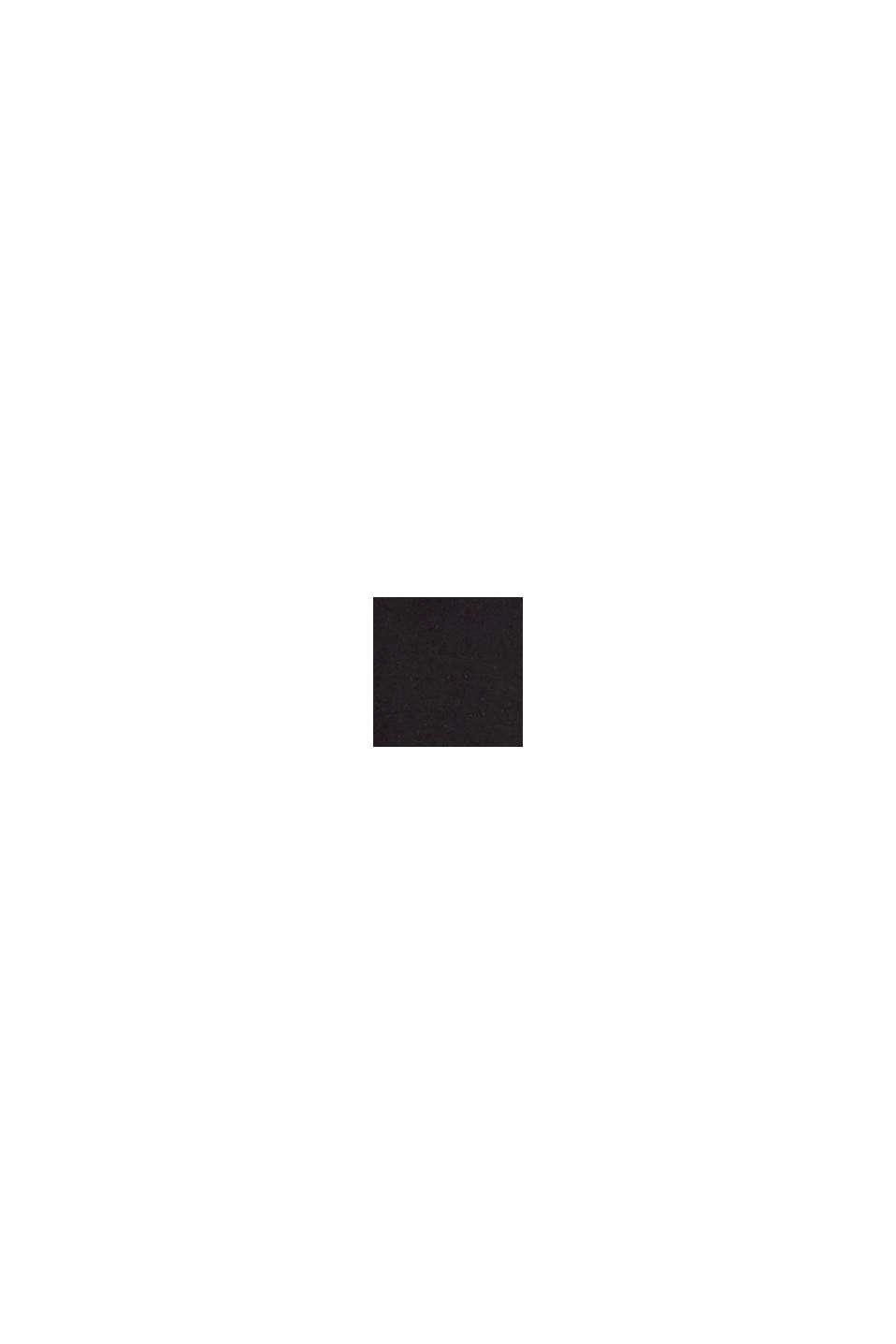 Jerseymekko vyötärönauhoilla, BLACK, swatch