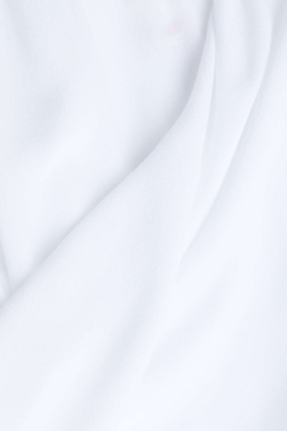 Crêpe Carmen blouse, WHITE, detail image number 4