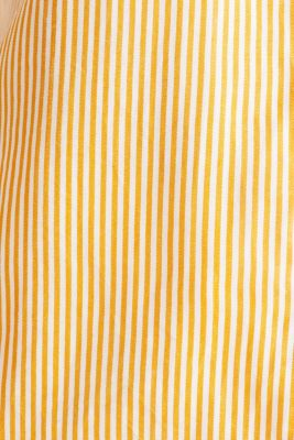Made of TENCEL™: blouse with stripes, ORANGE 4, detail