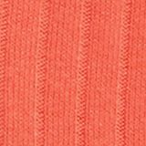 With linen: jumper with a button placket, CORAL, swatch