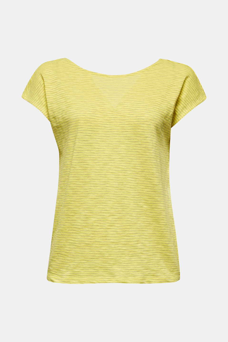Top with a bow at the back, BRIGHT YELLOW, detail image number 5