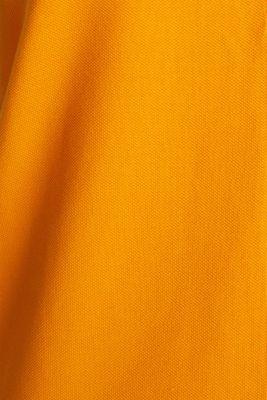 Sleeveless piqué stretch top, ORANGE 4, detail