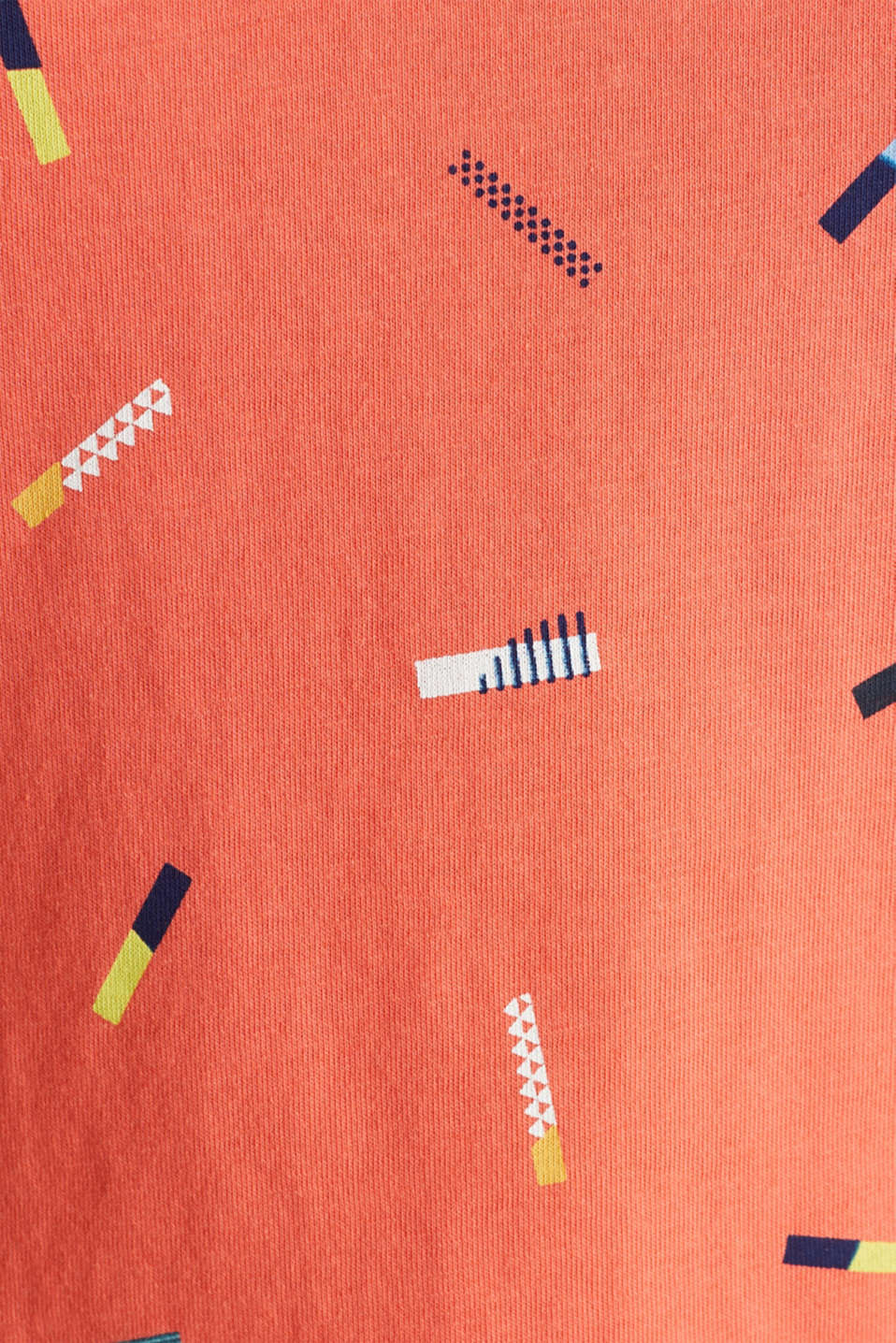 Print T-shirt in 100% cotton, CORAL, detail image number 3
