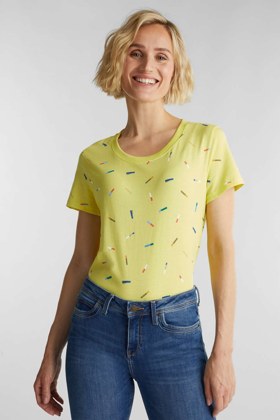 Esprit - T-shirt stampata in 100% cotone