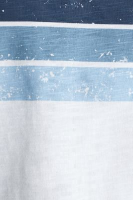Printed T-shirt, 100% organic cotton, WHITE, detail