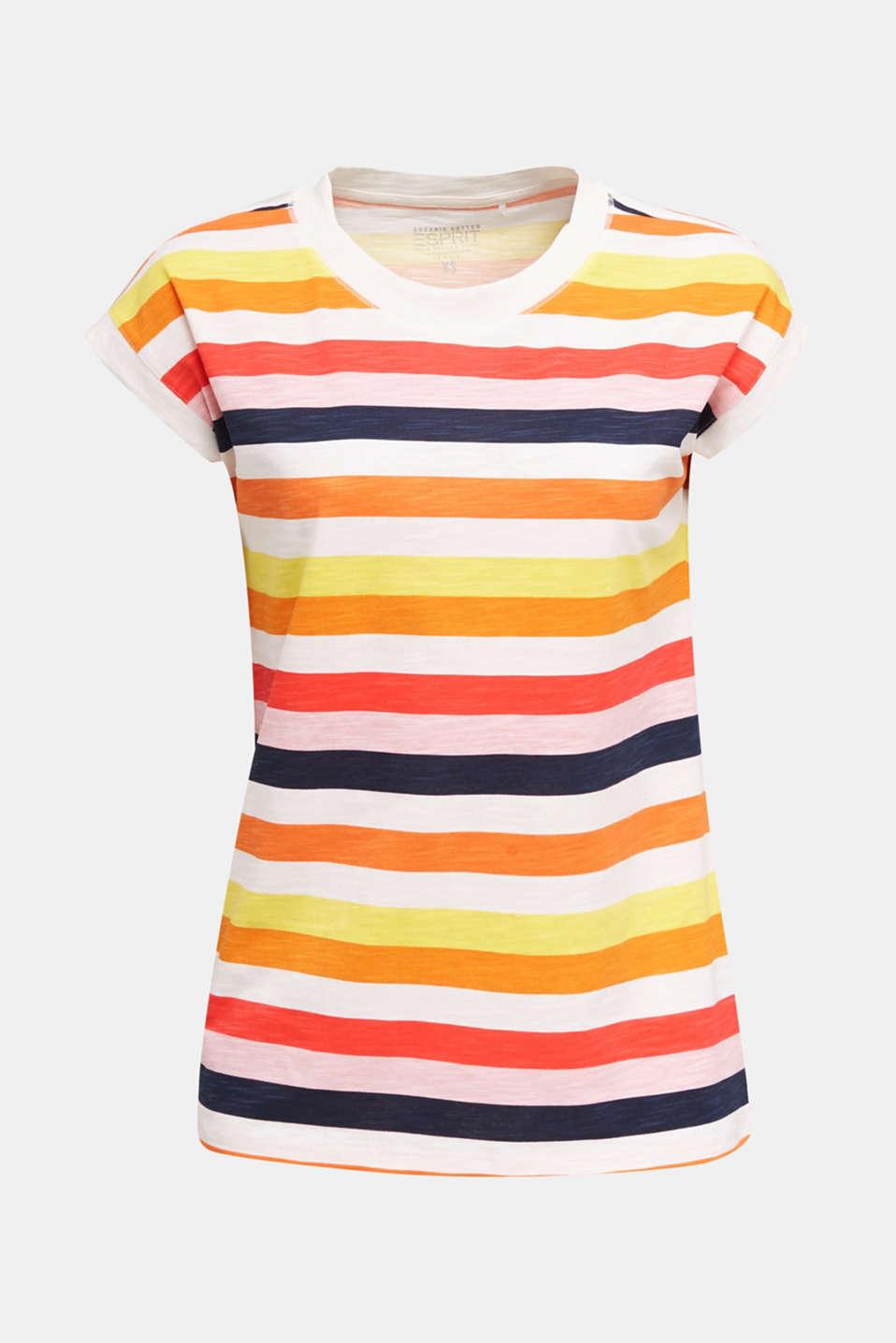Printed T-shirt, 100% organic cotton, OFF WHITE, detail image number 5