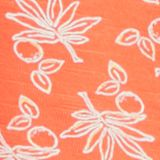 Print T-shirt in 100% organic cotton, CORAL, swatch