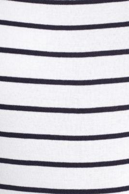 Striped T-shirt, organic cotton, WHITE, detail