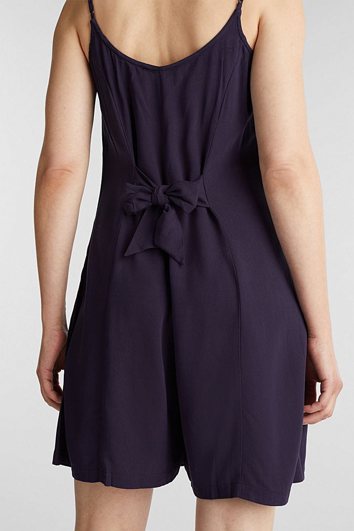 Playsuit with a button placket, NAVY, detail image number 5