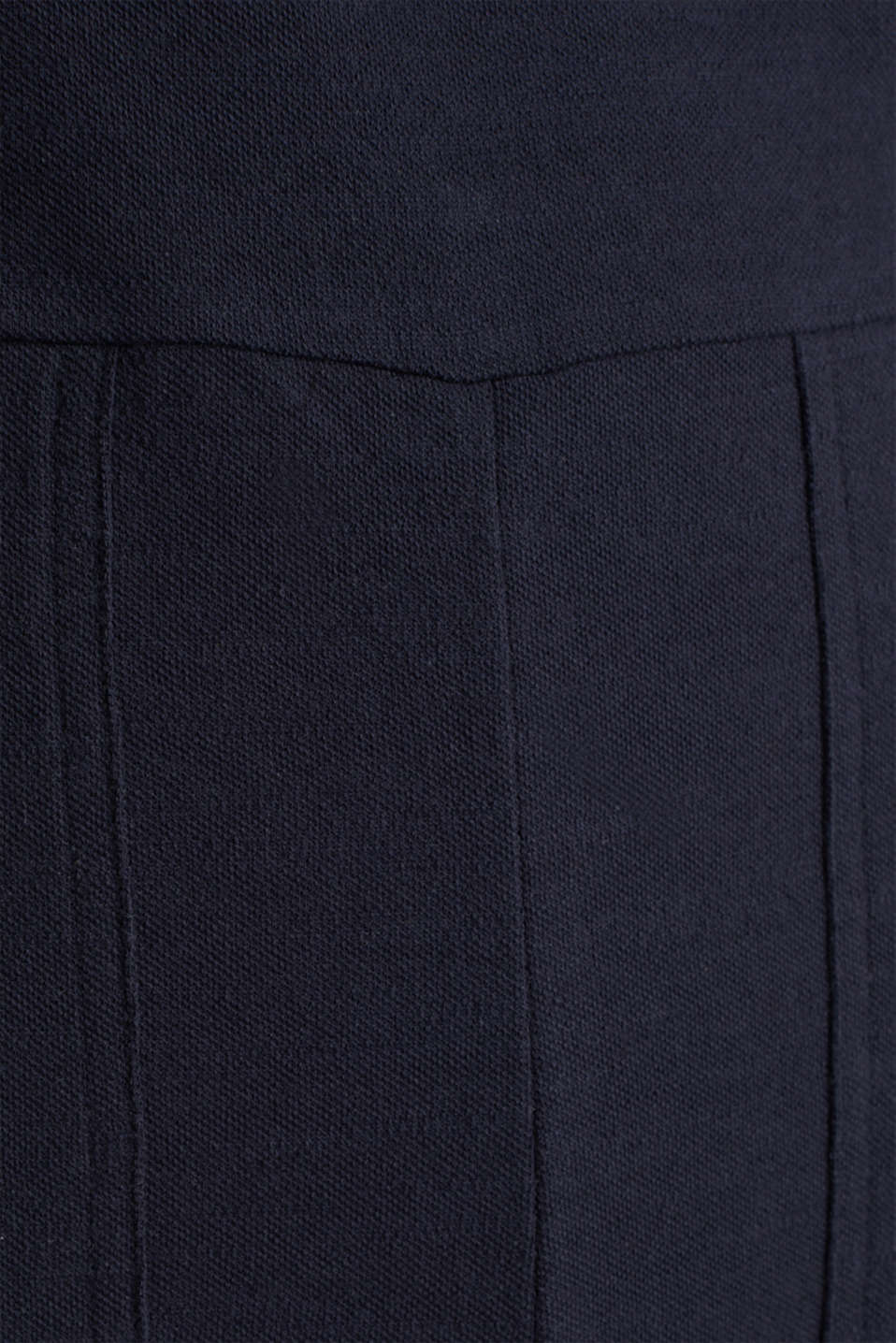 Blended linen jumpsuit, NAVY, detail image number 4