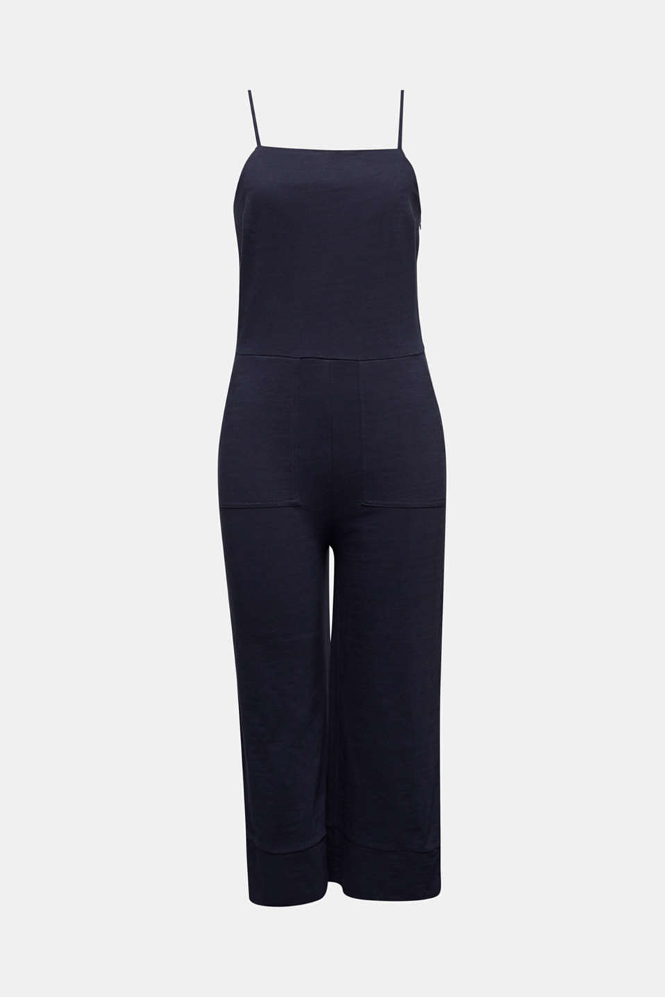 Blended linen jumpsuit, NAVY, detail image number 6