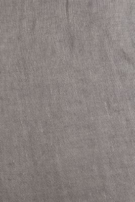 100% linen: trousers with a drawstring waistband, GREY, detail