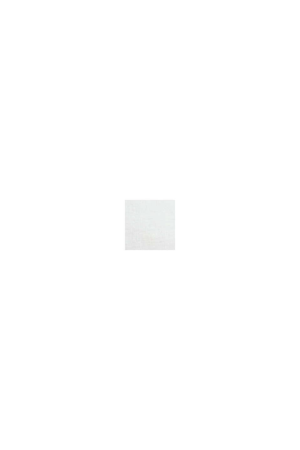 100 % pellavaa: nappikauluspaita, WHITE, swatch