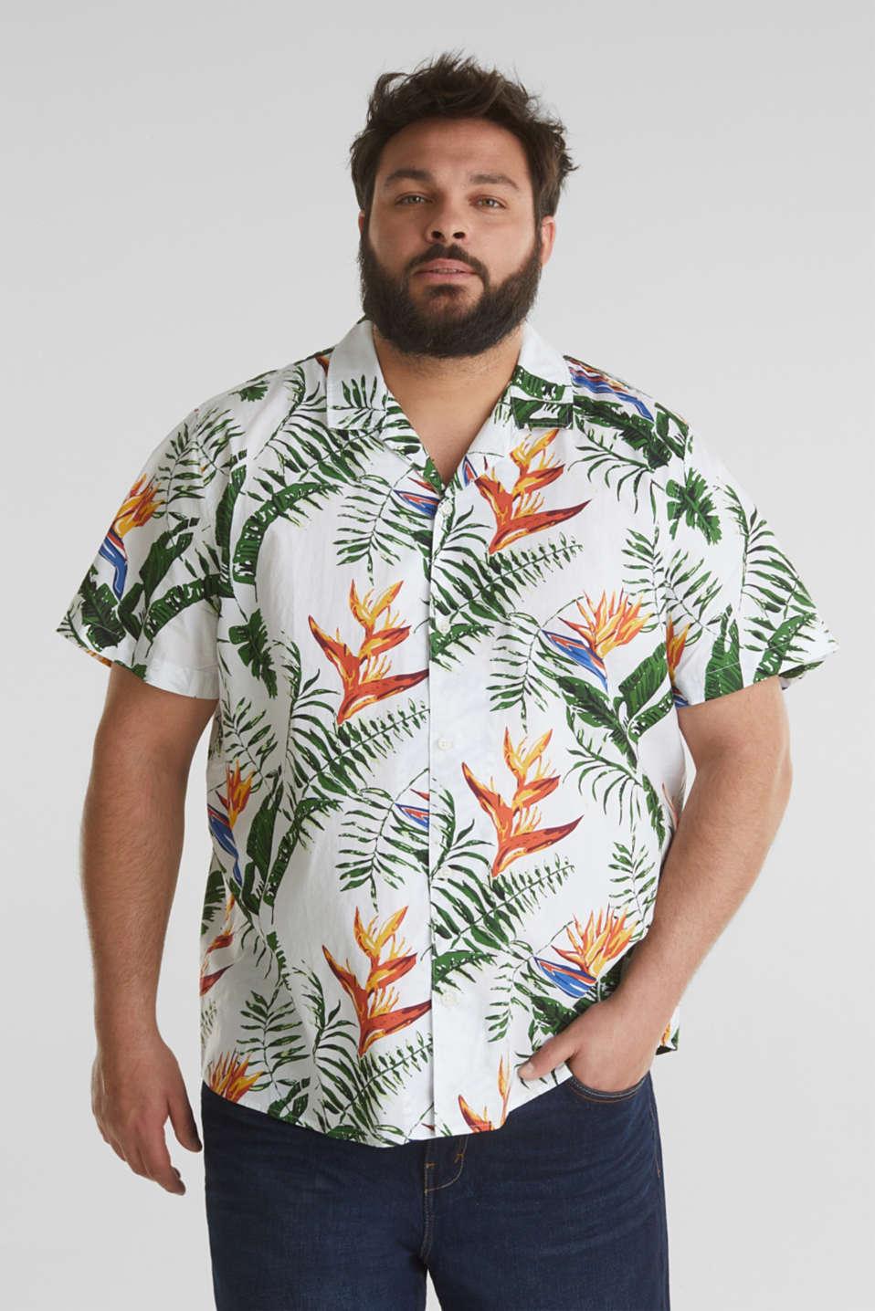 Print shirt, 100% organic cotton, WHITE 4, detail image number 0
