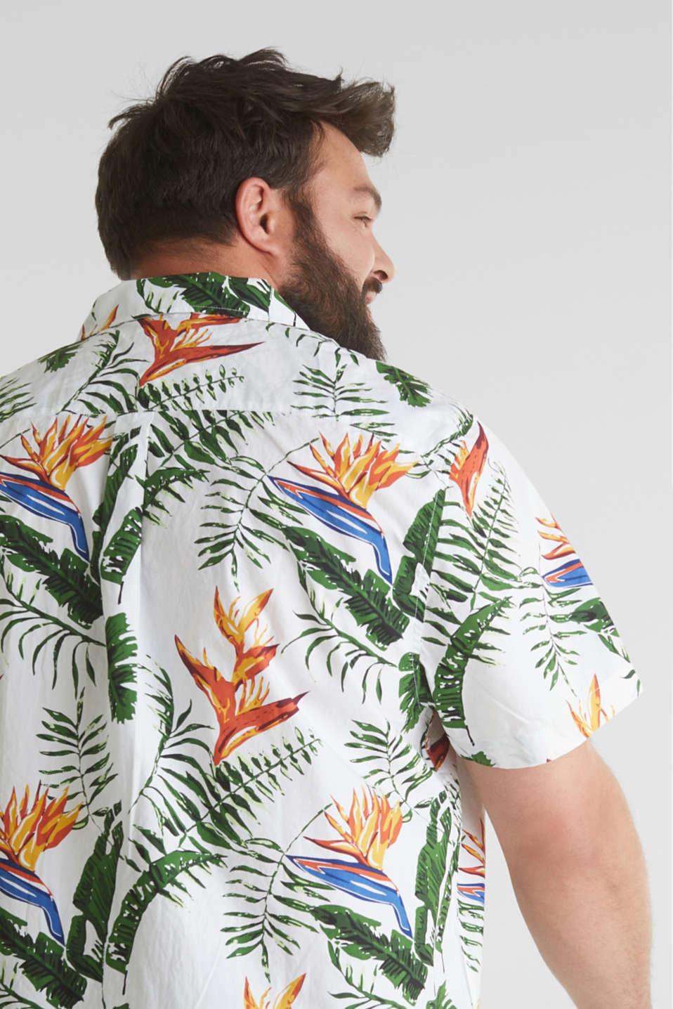 Print shirt, 100% organic cotton, WHITE 4, detail image number 2